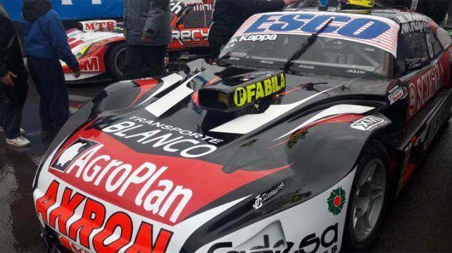 Ortelli se quedó con la pole en Concepción