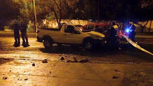 Grave accidente en calle Blas Parera