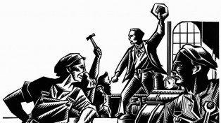 Proletarios. La lucha por los derechos dio impulso a los gremios revolucionarios.