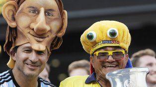 El aguante argentino en el MetLife Stadium