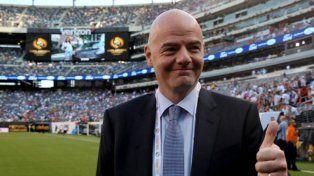 El presidente de la FIFA entregará la copa
