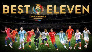 El once ideal de la Copa América Centenario
