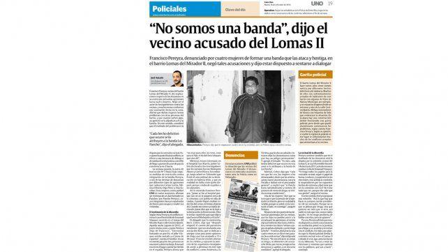 Condenan a integrantes de una banda que mantuvo en vilo al barrio Lomas II