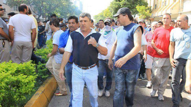 Protesta. La foto fue tomada el 19 de marzo de 2012