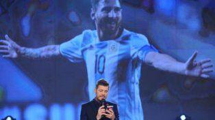 Marcelo Tinelli leyó una carta de una docente entrerriana para Lionel Messi