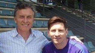 Macri expresó su apoyo a Messi y todo el equipo de Martino.