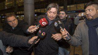 Los hijos de Báez llegaron a Buenos Aires y compartieron el vuelo con Máximo Kirchner