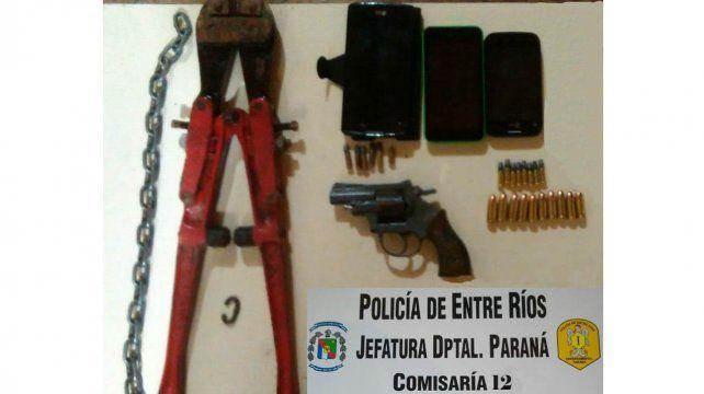 Secuestran armas y cartuchos en barrio Lomas del Mirador