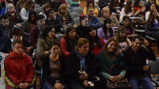 Fue amplia la convocatoria que se realizó hoy por la mañana. Foto prensa Iprodi.
