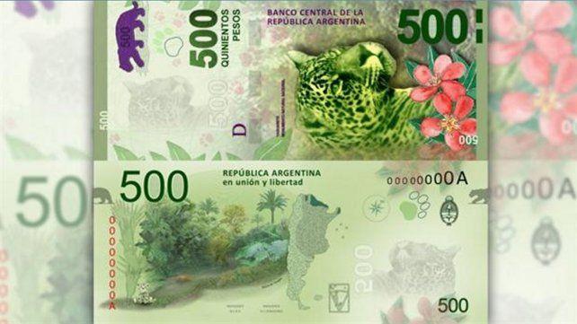 Lo que hay que tener en cuenta para verificar la autenticidad de los nuevos billetes de 500 pesos