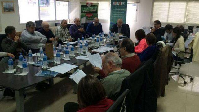 El encuentro que se desarrolló en la sede de la empresa Lambert Hermanos.