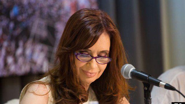 Cristina habló sobre los allanamientos en el sur