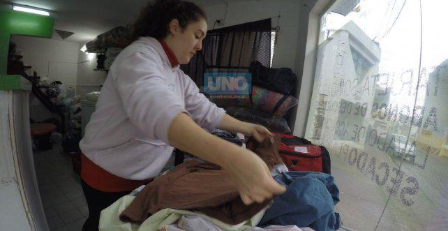 Desiree durante todo el día tiene trabajo pararealizar. Foto UNO Juan Manuel Kunzi