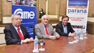 Anunciaron la renovación de la peatonal de Paraná