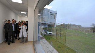 Bordet recorrió el Centro de Medicina Nuclear de Oro Verde.