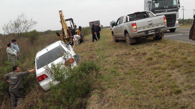Se accidentó un funcionario provincial: Nacimos de nuevo, dijo