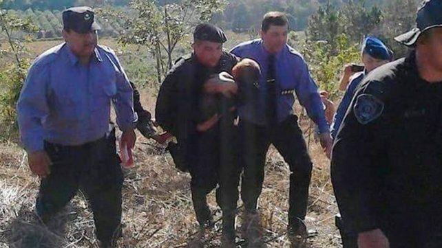 Hallaron a un nene de 2 años que estuvo dos días solo entre yerbatales