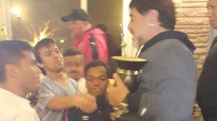 Futbolistas Baja Talla se reunieron con Diego Maradona
