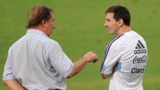 Bilardo defendió a Messi.