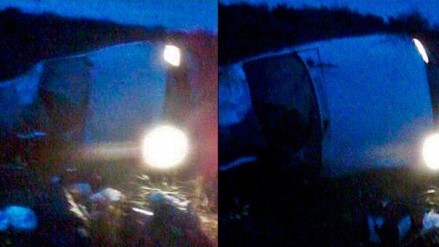 Despistó y volcó un vehículo en el que viajaban funcionarios provinciales