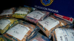 Luego de Time Warp, desviaban el ingreso de éxtasis por Paraná