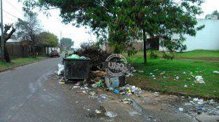 Suciedad en barrio La Milagrosa