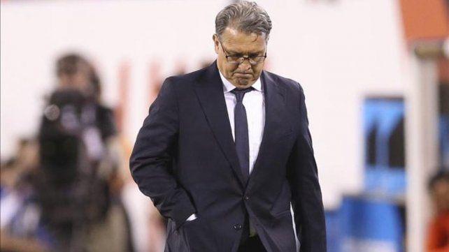 Martino renunció como DT de la Selección nacional