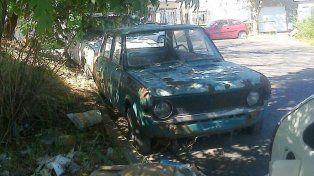 La Municipalidad recibe denuncias por autos abandonados en la calle