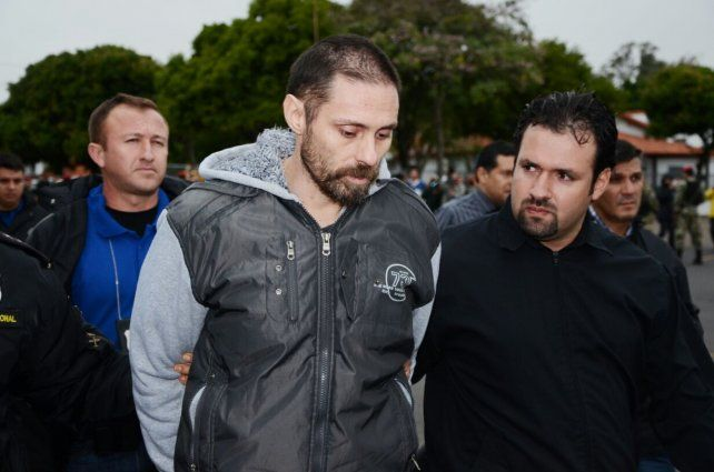 Pérez Corradi llegó al país y fue trasladado a Gendarmería