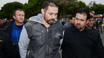 perez corradi llego al pais y fue trasladado a gendarmeria