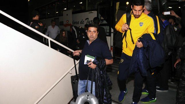 Boca ya está en Ecuador en espera de la semifinal de ida de la Copa Libertadores