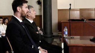 Lionel Messi y Jorge Messi.