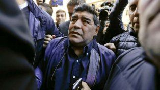 Maradona se enojó porquePrimo Corvaro