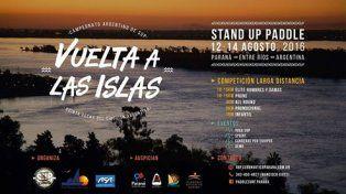Lo mejor del Stand Up Paddle nacional desembarcará en Paraná