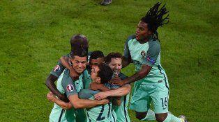 Portugal espera por Francia o Alemania en la final del domingo.