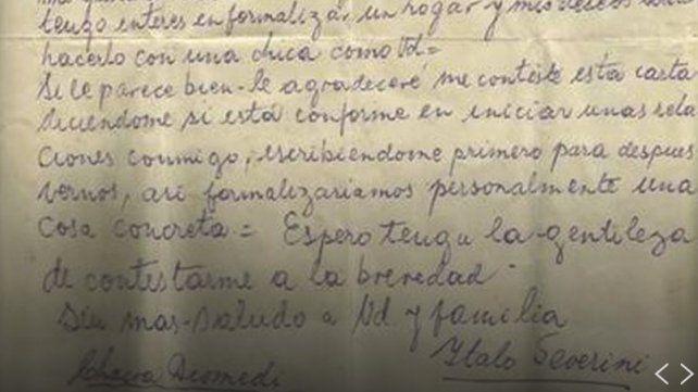 La carta de amor que se hizo viral 50 años después