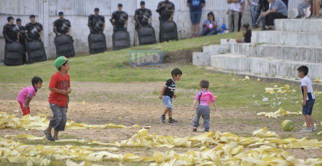 En el operativo trabajarán 140 uniformados. Foto UNO Mateo Oviedo.