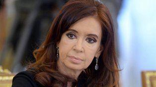 El juez Bonadio congeló los fondos de Cristina Kirchner