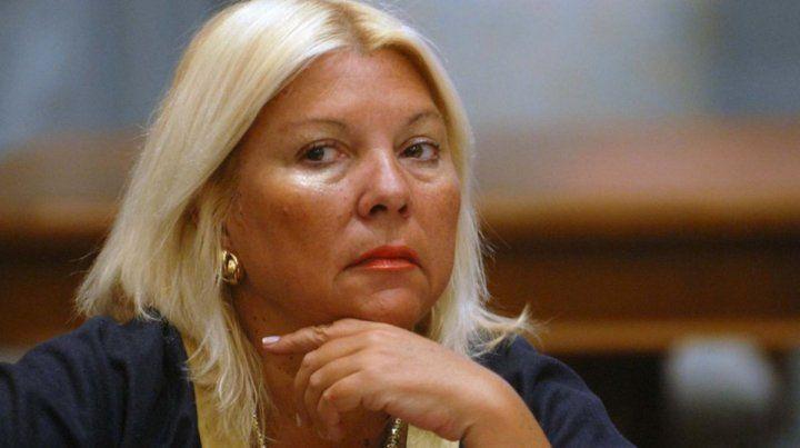 Carrió criticó a Lavagna por usar malla con zoquetes
