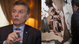 Polémicas declaraciones de Macri sobre los destrozos en Tiempo Argentino