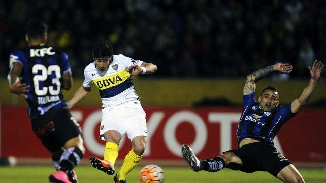 Boca no lo supo liquidar y perdió en Quito