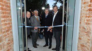Bordet, junto a ex gobernadores, inauguró el museo de Casa de Gobierno