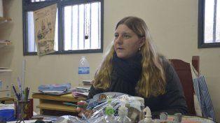 Mirada. La directora de la escuela Guadalupe ofreció un crudo testimonio de la realidad en la zona.