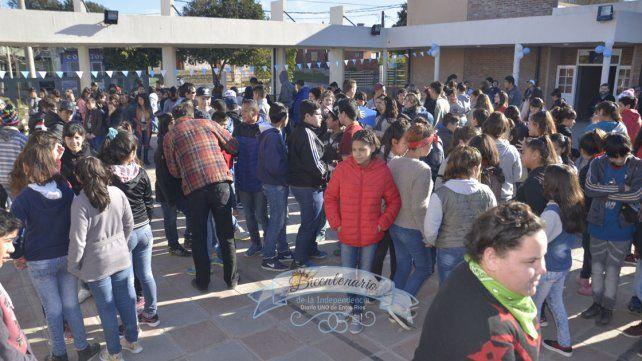 Defender derechos. Es uno de los mensajes a los jóvenes en la escuela Guadalupe.