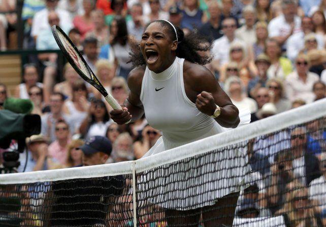 Serena Williams ganó Wimbledon y se convirtió en leyenda