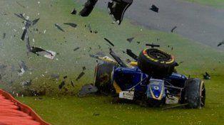 Un accidente con suerte