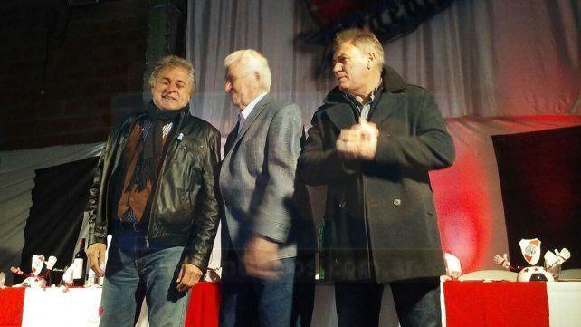 Cena de gala con tres históricos de River Plate
