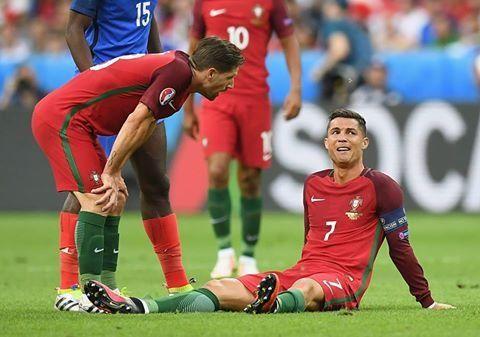 El crack portugués jugó menos de 30 minutos.