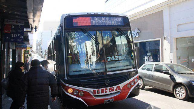 A partir de este lunes hay nuevos horarios de colectivos en Paraná