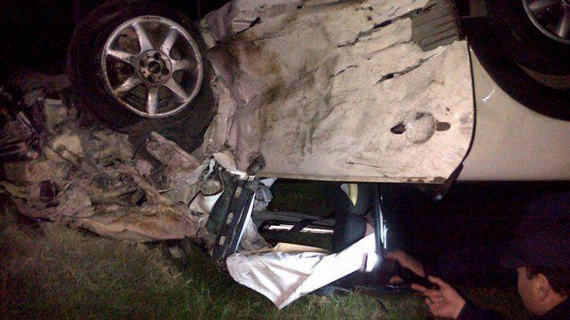 Cinco personas fueron hospitalizadas tras protagonizar un choque en la ruta provincial 26
